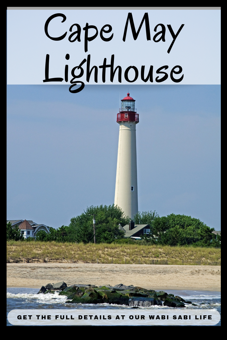 Have you ever been to Cape May, NJ? Have you visited the Cape May lighthouse?  This gorgeous lighthouse is a great place to visit and explore.  Visit the lighthouse, climb to the top.  The view is too beautiful to miss.