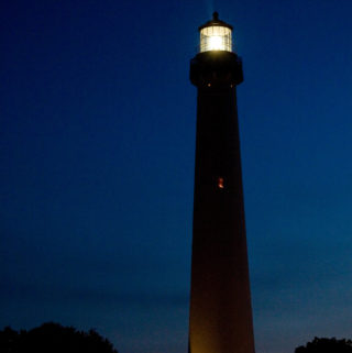Cape May Lighthouse at Night