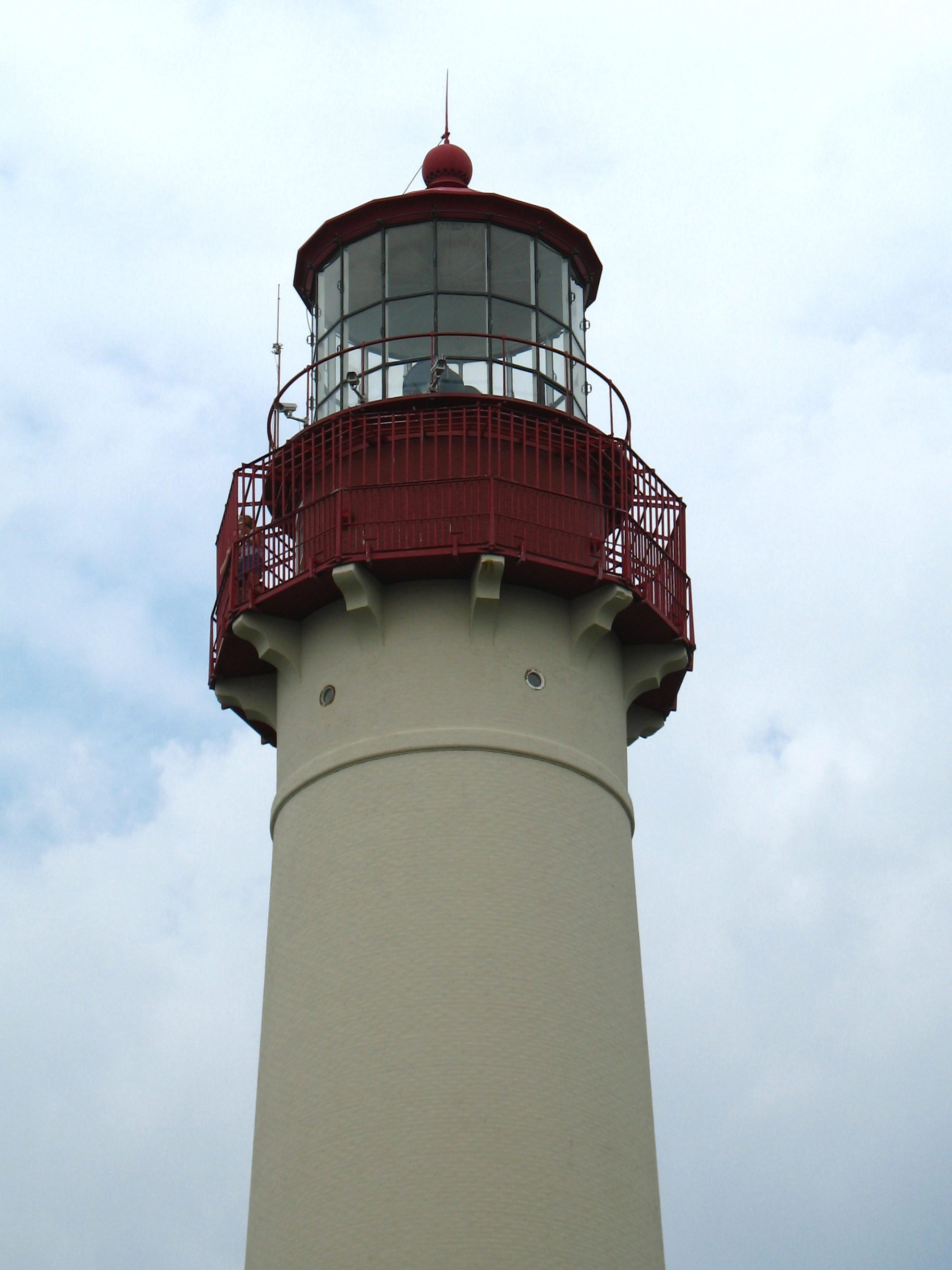 cape may lighthouse top
