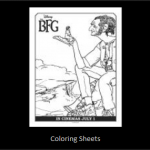 The BFG Free Coloring Sheet & Activities
