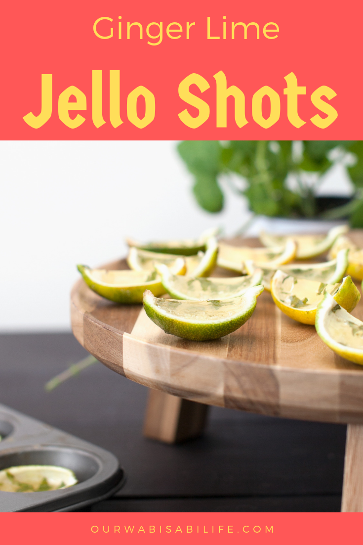 ginger lime jello shots