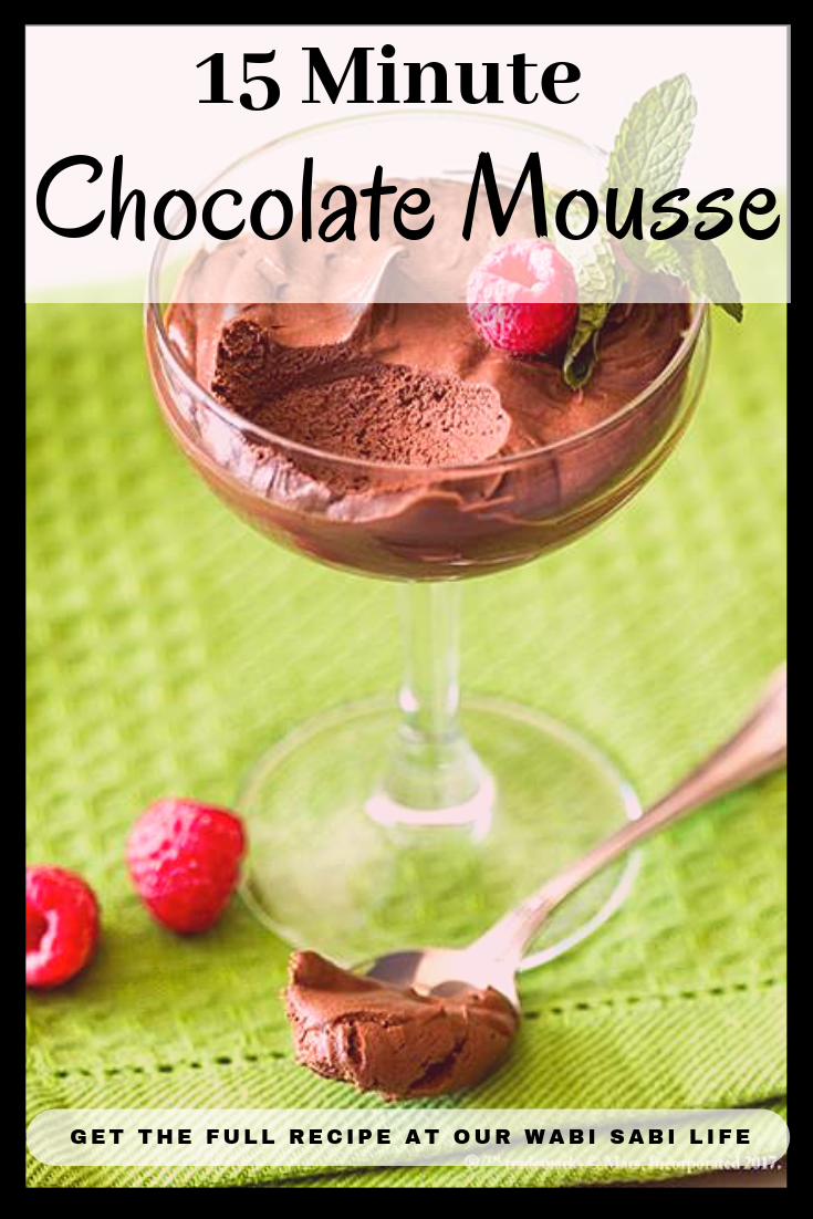 Looking for a truly simple chocolate mousse recipe? If you have ever wanted to make chocolate mousse at home, this is the chocolate mousse is made in 15 minutes and ready to serve in a few hours.