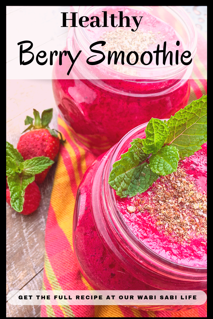 Love smoothies but want a healthy berry smoothie that is filling? This healthy berry smoothie is easy to make, tastes amazing, and very good for you.