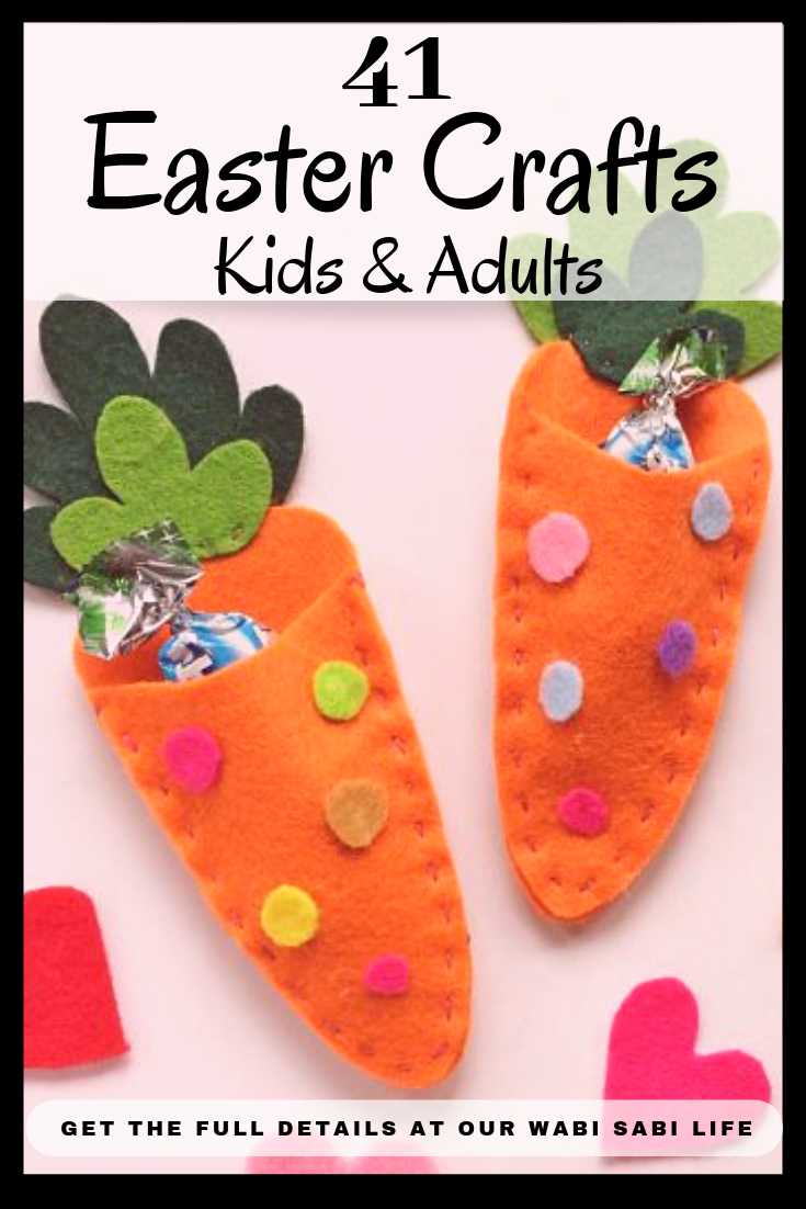 Looking for Fun Easter crafts? Check out these easy to make Easter Crafts for Kids and Easter Crafts for adults. Here you can find easy to make Easter crafts for all.