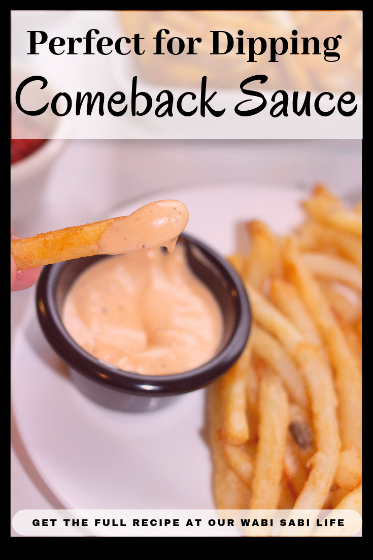Do you love Comeback sauce? Looking for a comeback sauce recipe you can make at home? Whether you are having a party, celebrating game night, or just want some of this great tasting sauce as a dip for dinner, you have to try my comeback sauce recipe.