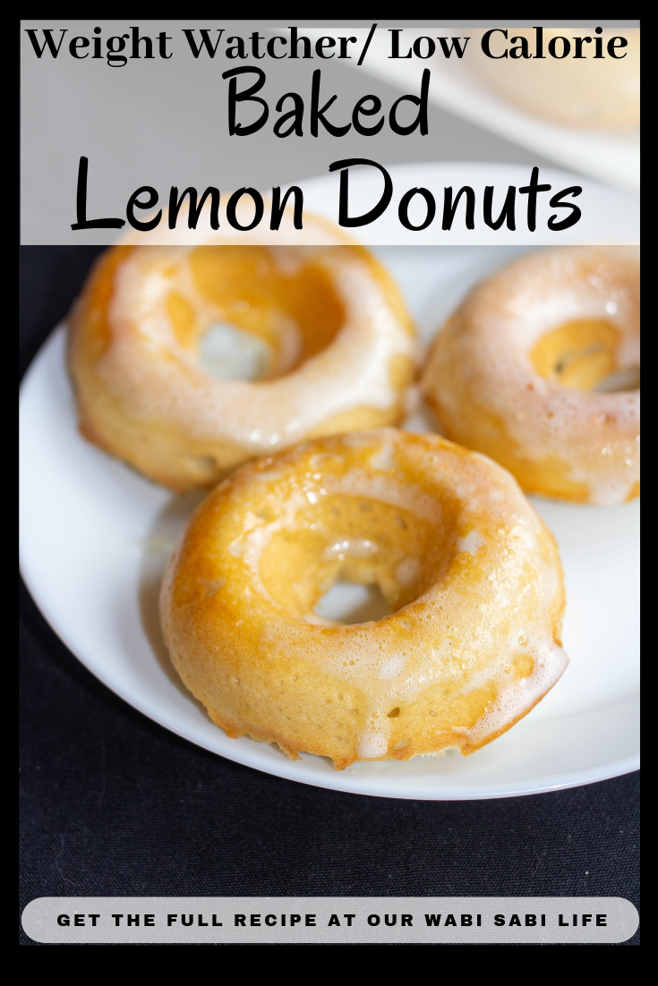Love Lemon? Want to make Lemon Donuts at home? You have to try this recipe. These lemon doughnuts are so good you might eat the whole batch. But don't worry, they are only 1 point on Weight Watchers