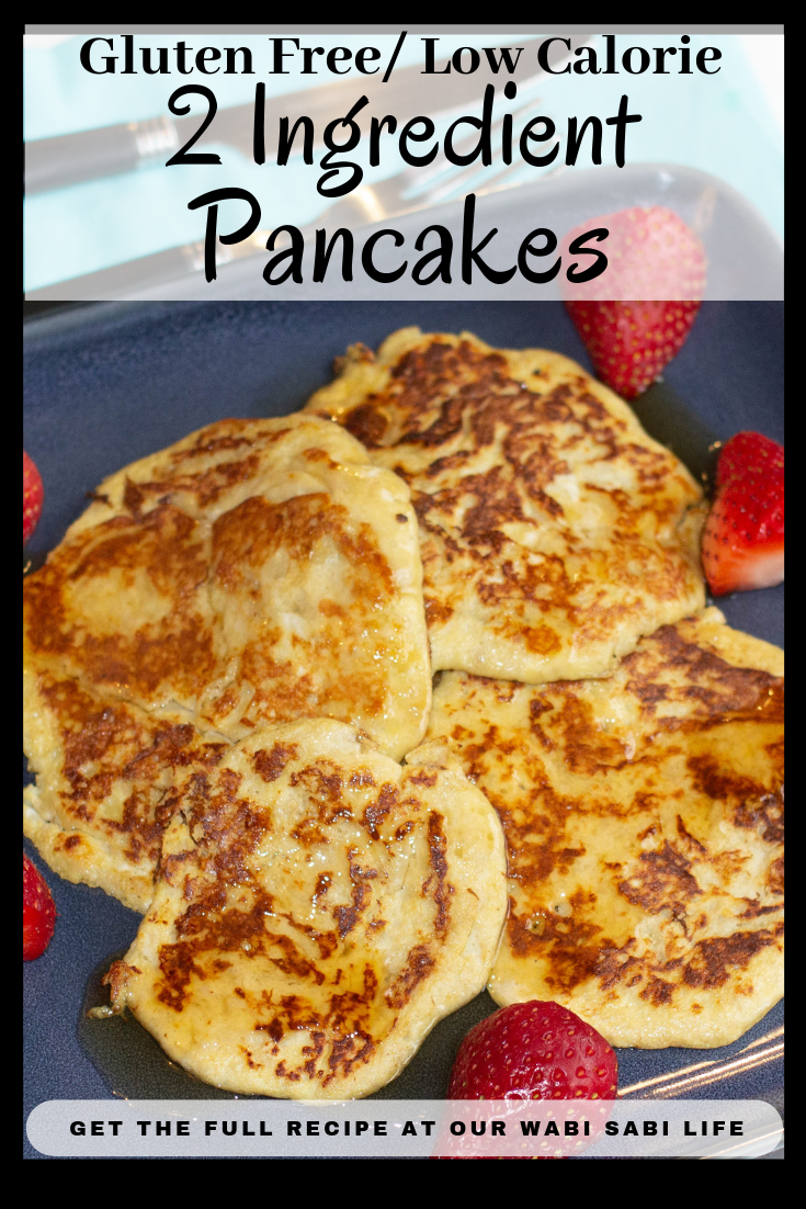 Looking for a new breakfast idea? Want a low calorie or gluten-free pancake idea? These 2 ingredient Weight Watcher pancakes are 0 Weight Watcher Points, are good for you AND taste good.