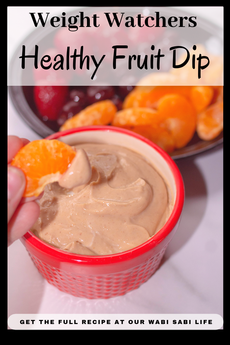 Looking for a healthy fruit dip? One that is packed with protein, low and sugar and is only 2 Weight Watcher points for the WHOLE bowl? Yeah, it is that good! #WeightWatchers #Dessert #Dip #Delish #PartyFood