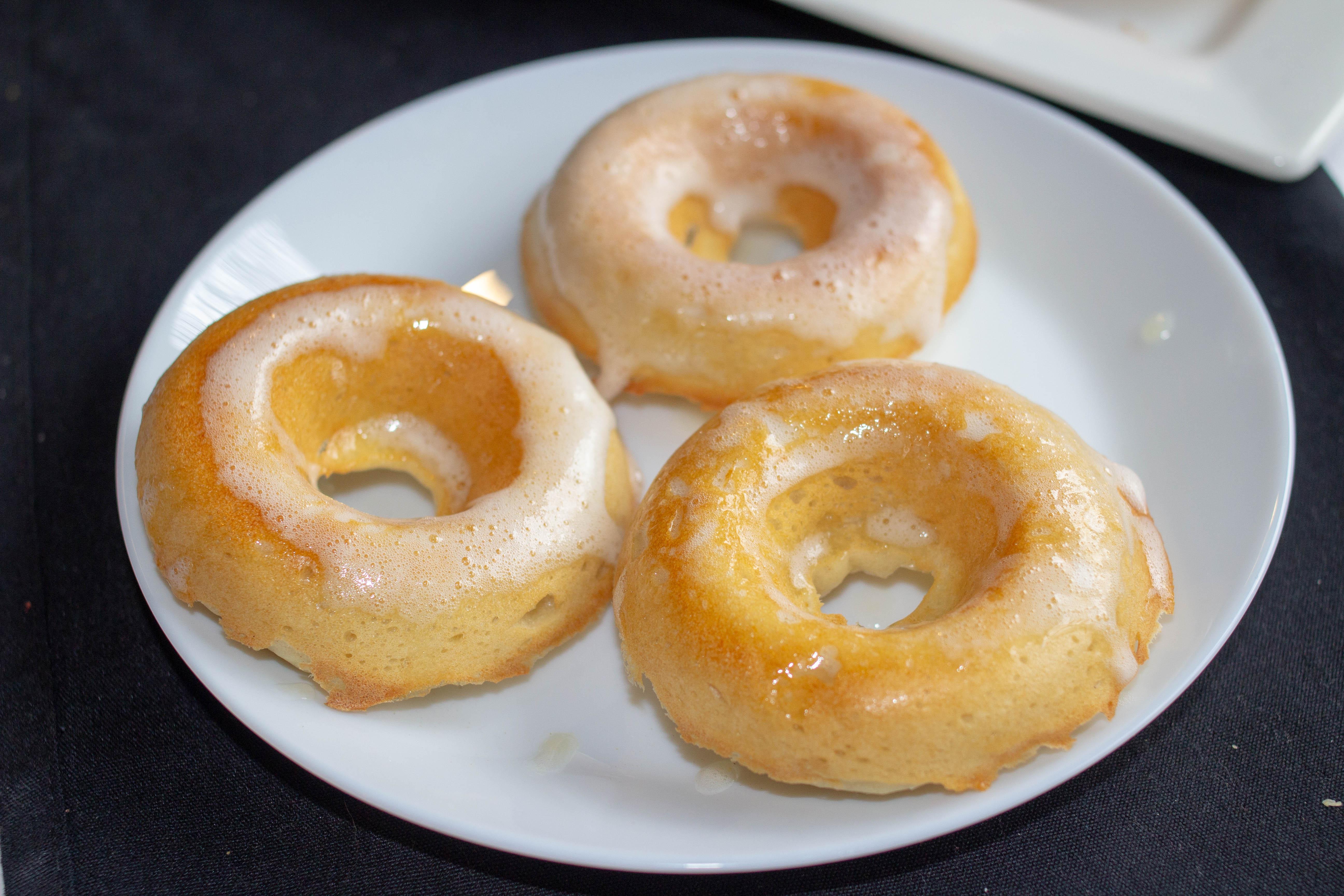 lemon donuts with glaze