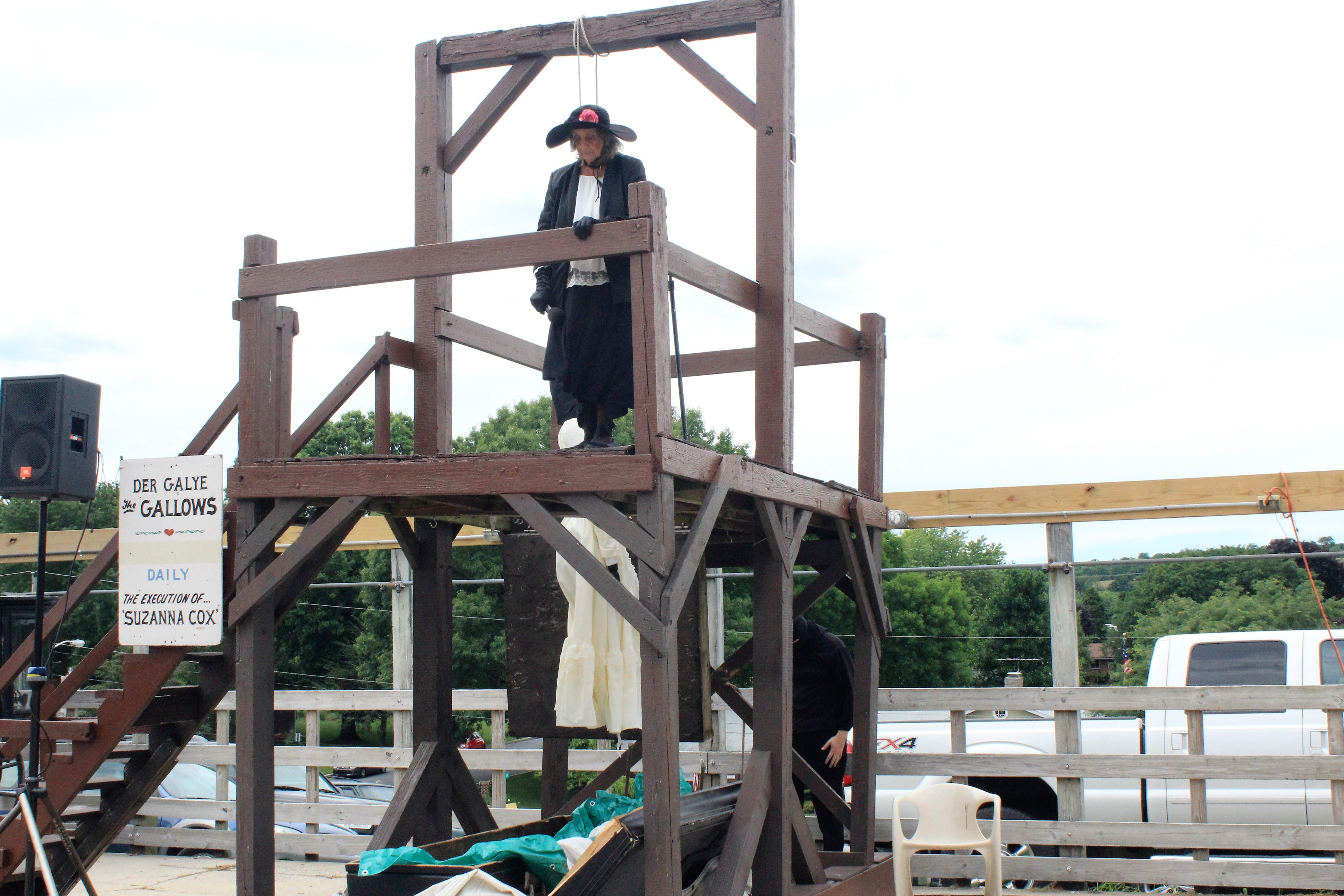 hanging of susanna cox