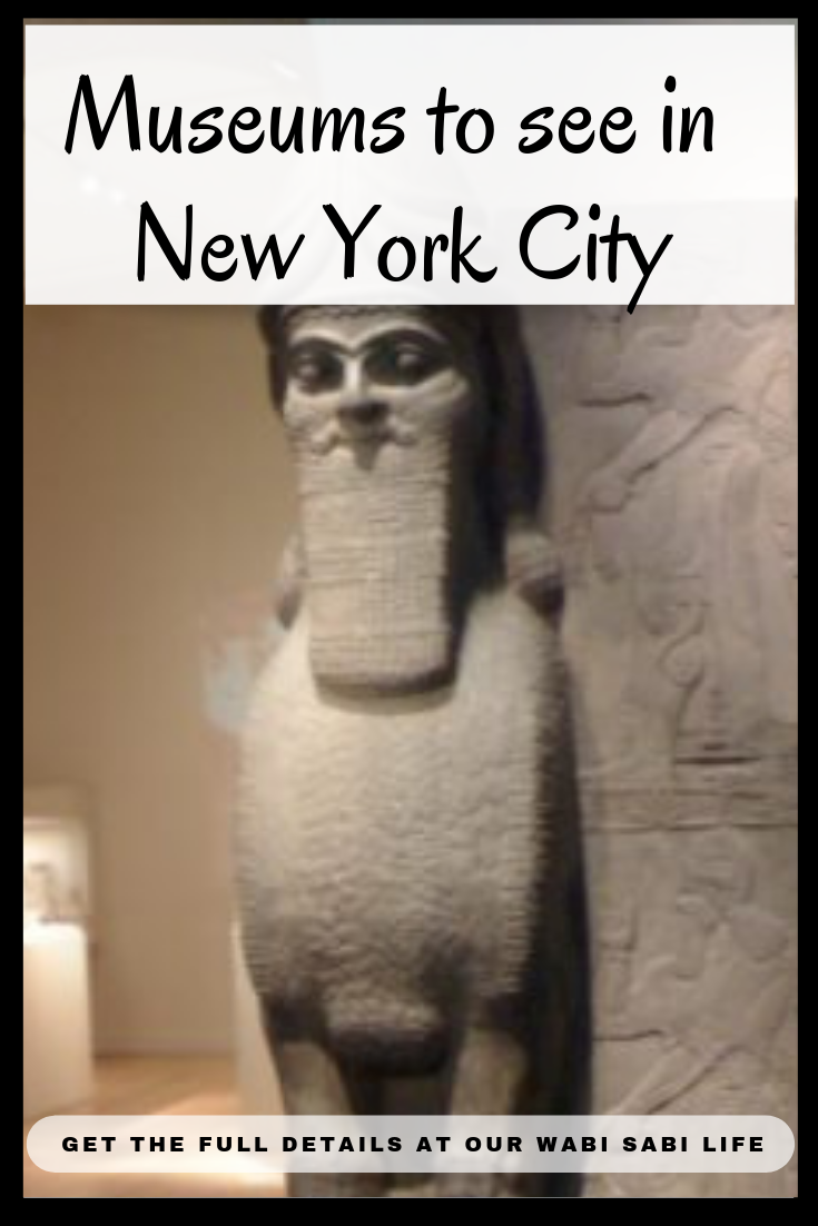 Museums are definitely a must see when you are in New York City. There are so many museums and cultural spots to visit and explore when you are visiting NYC.