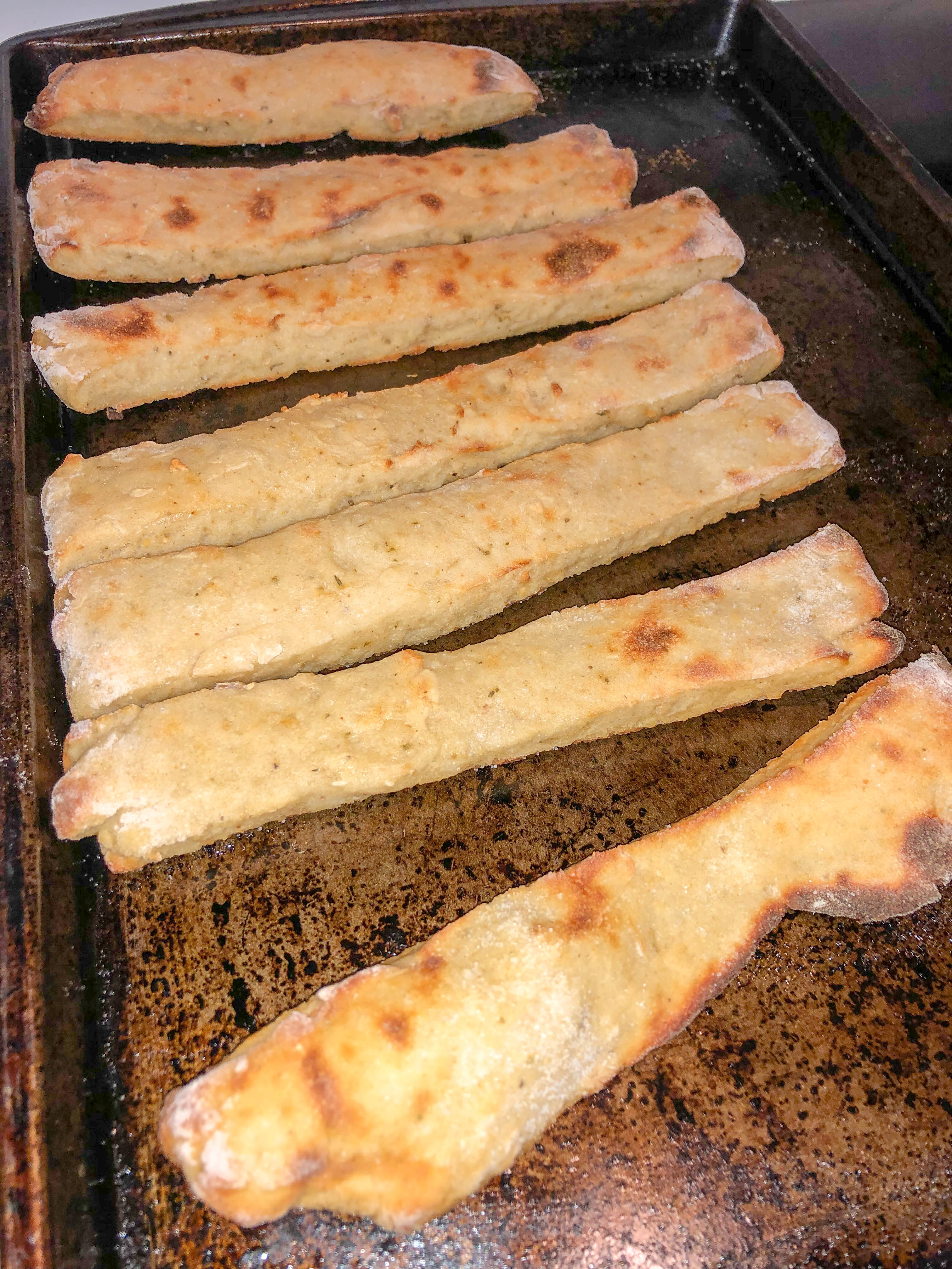 2 ingredient dough breadsticks