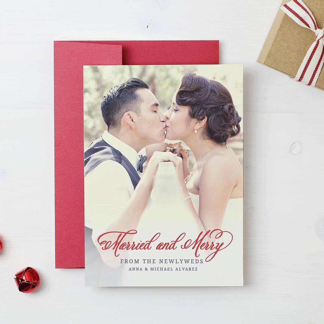 holiday card from basic invite