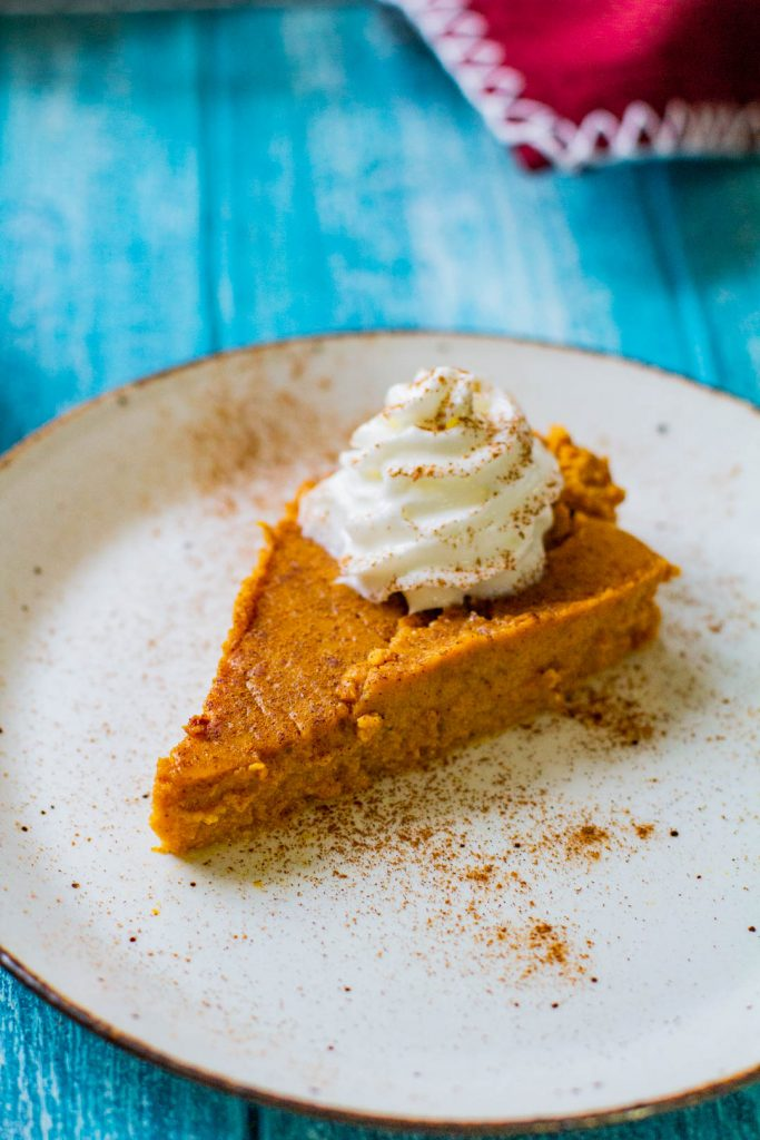 low carb keto pumpkin pie