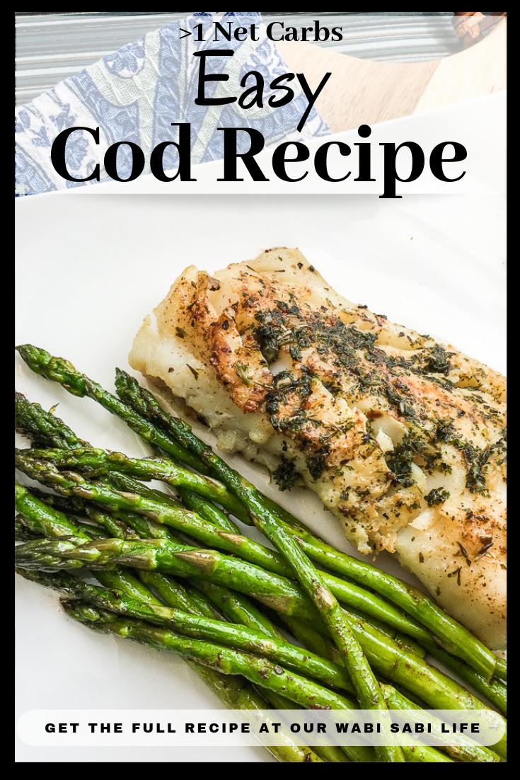 keto cod recipe