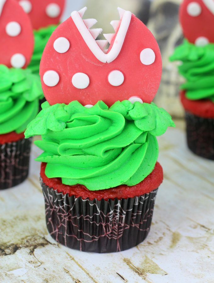 Audrey Little Shop of Horror Cupcakes