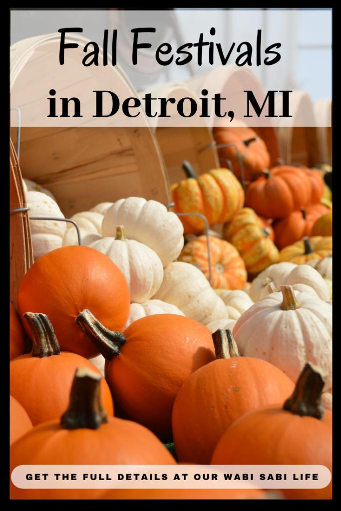 Fall Activities in Detroit, MI