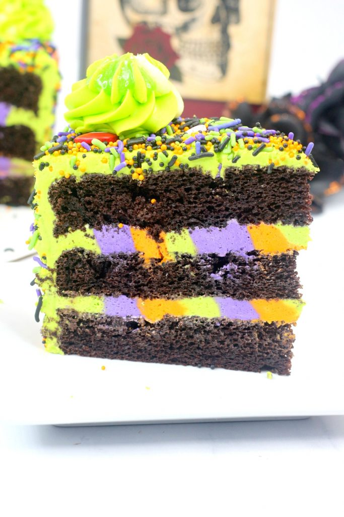 Halloween Hocus Pocus Monster Cake