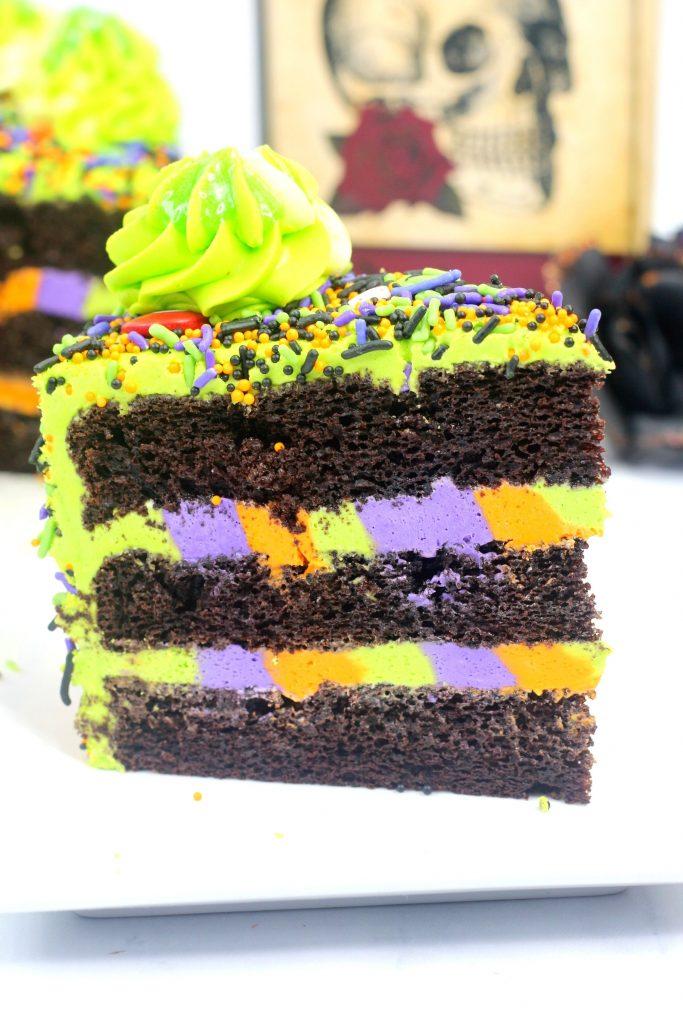 Hocus Pocus Cake Halloween Monster Cake