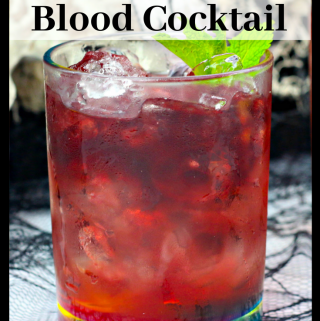 orange blood cocktail