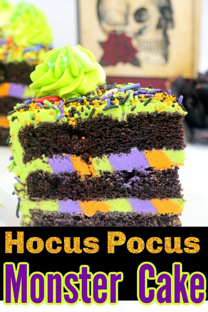 hocus pocus monster cake