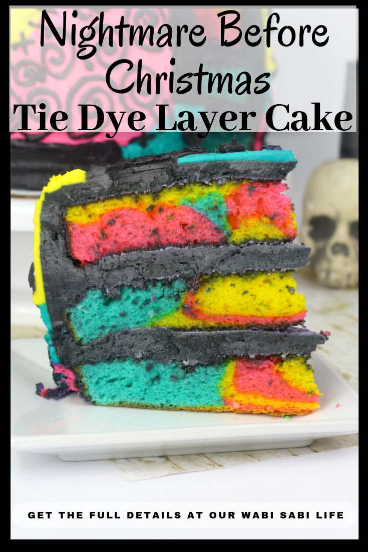 nightmare before christmas layer cake