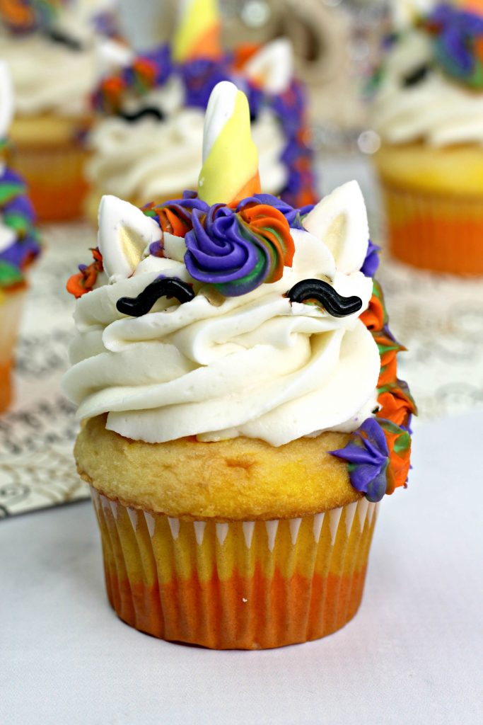 witch unicorn cupcakes