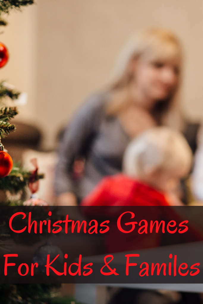 Christmas games for kids and families