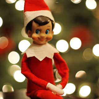 elf on the shelf reminder
