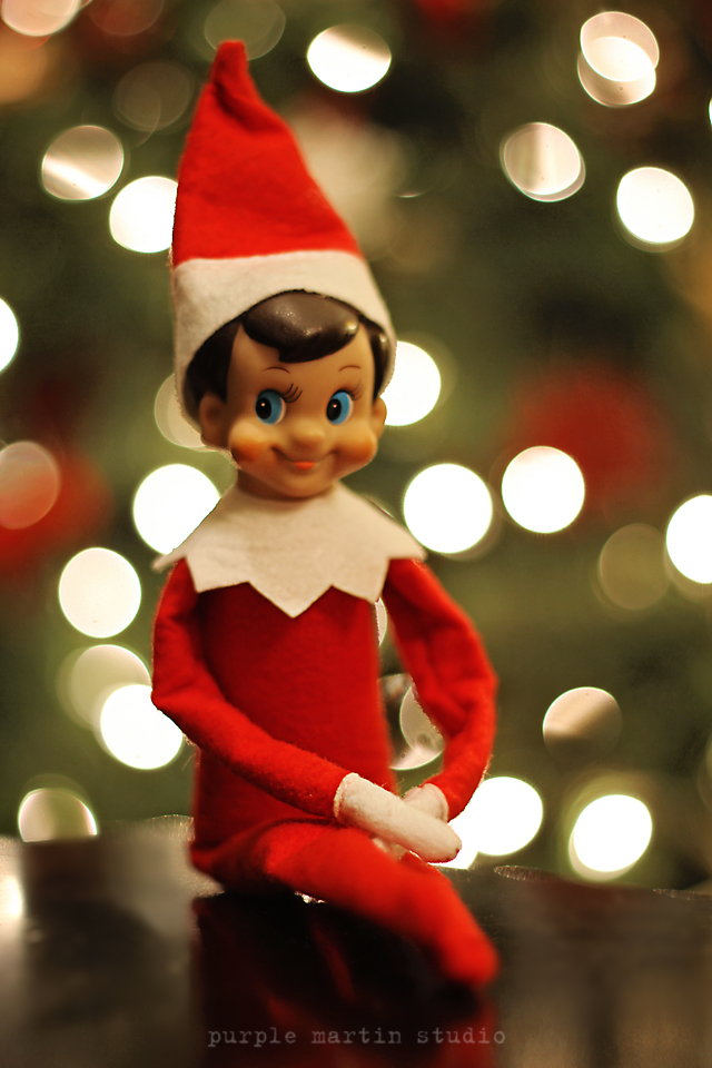 elf on the shelf reminder