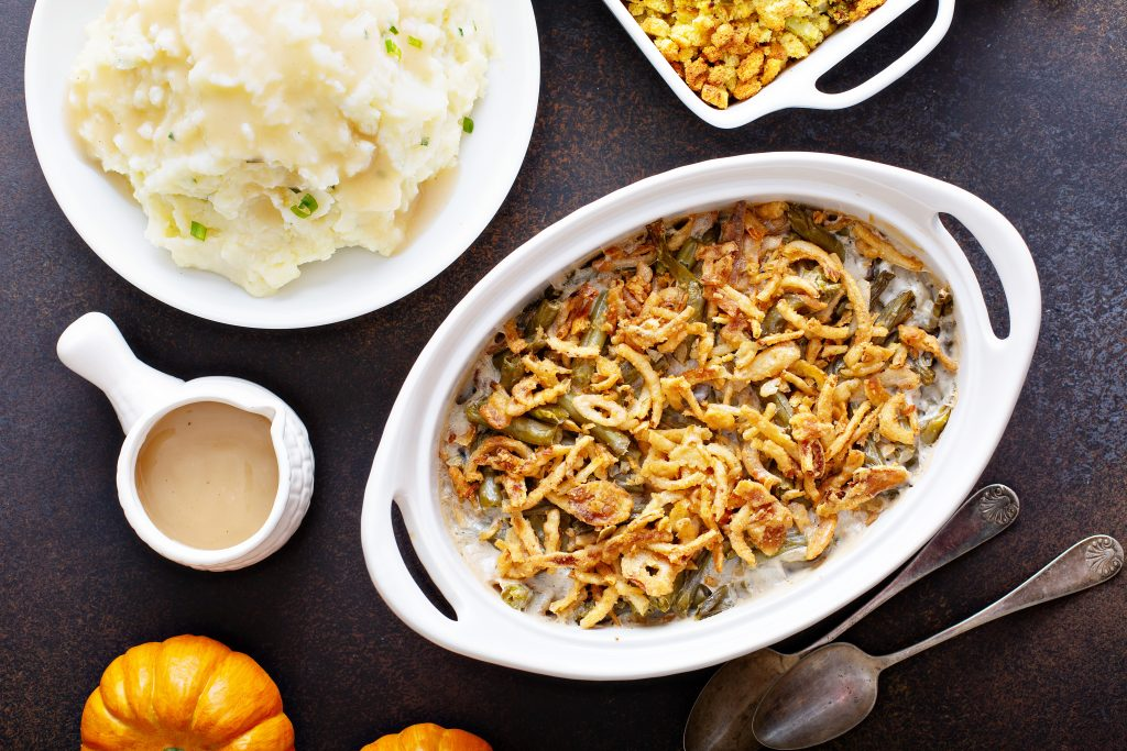 The Best Healthy Green Bean Casserole