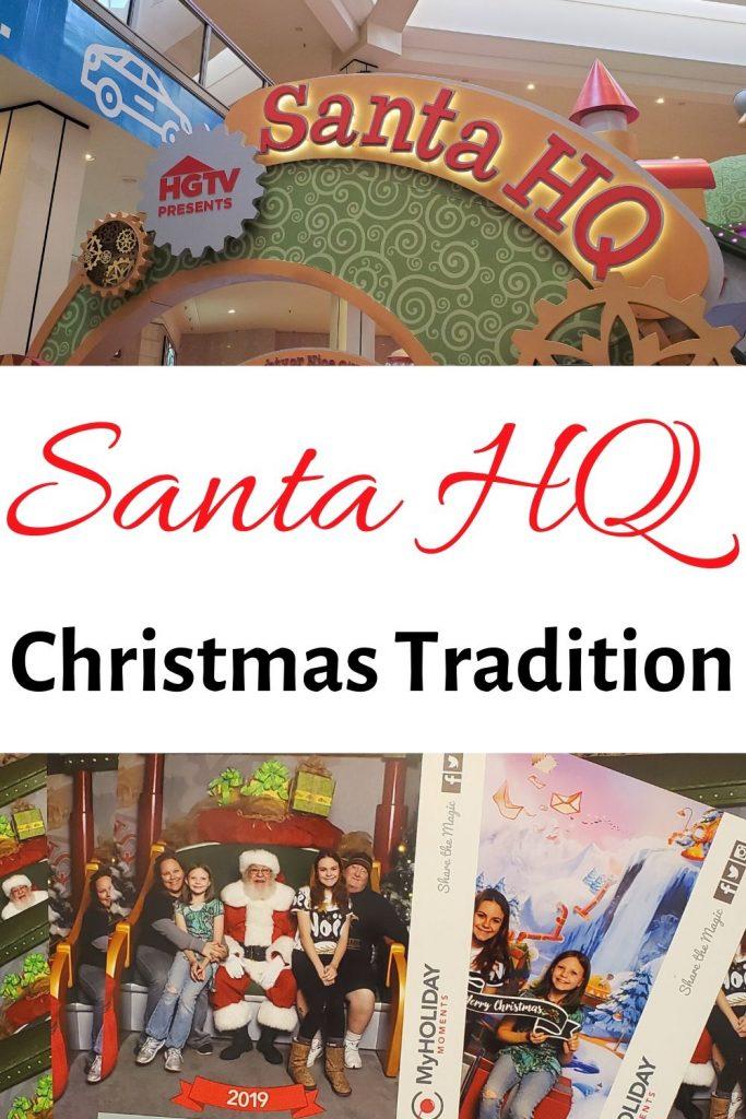 Santa HQ collage for pinterest