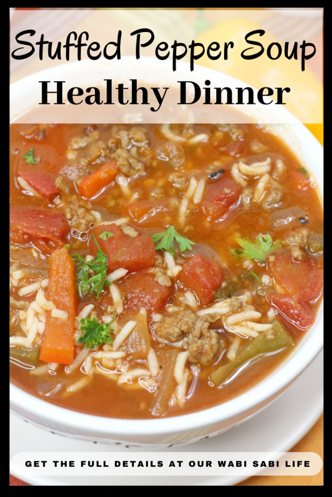 stuffed pepper soup picture for pinterest