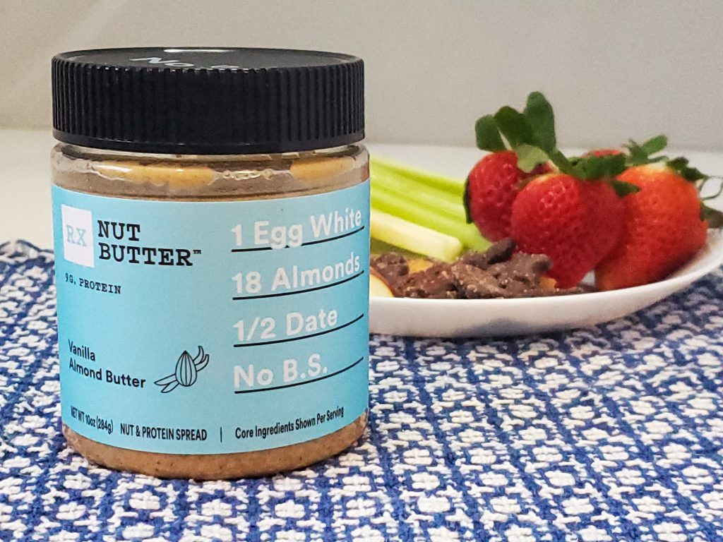 rx butter vanilla almond