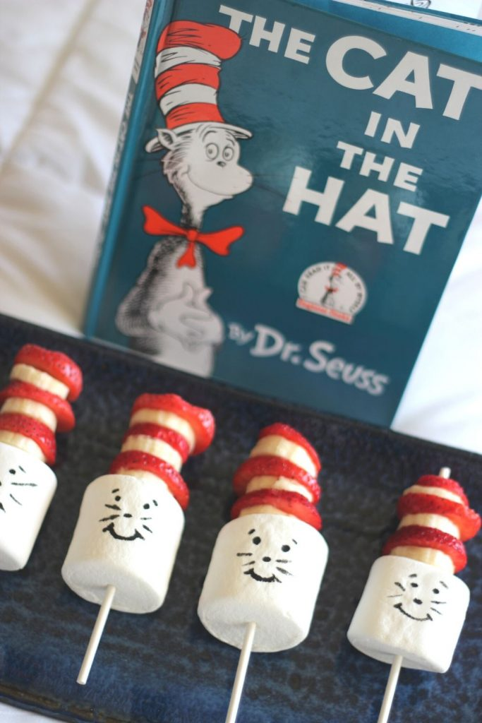 Cat in the Hat Recipe Snack