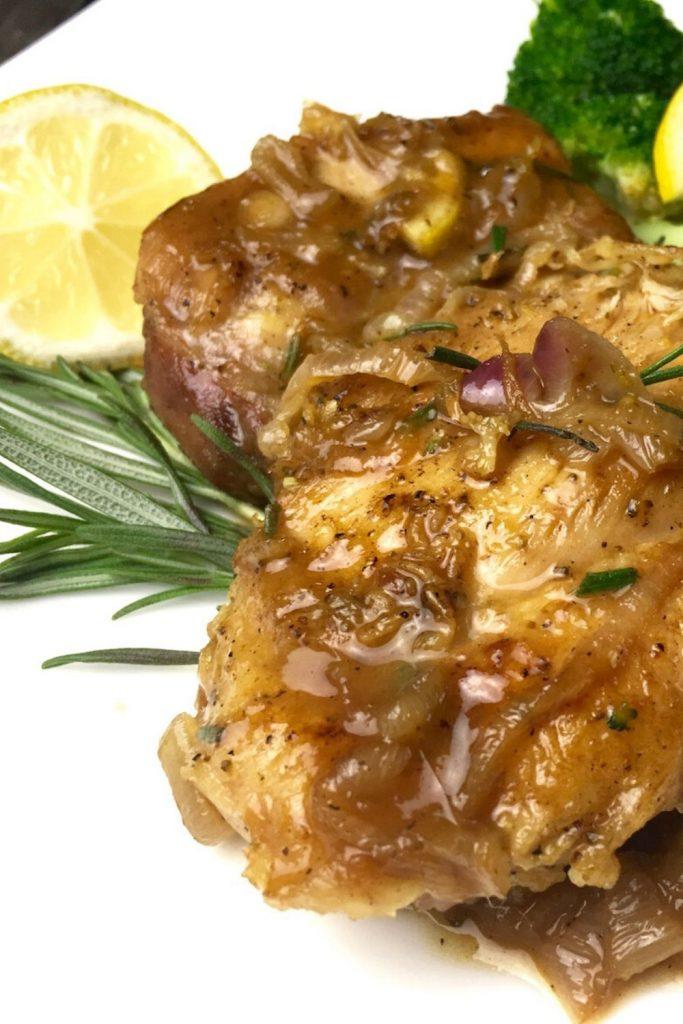 Easy Lemon Rosemary Chicken