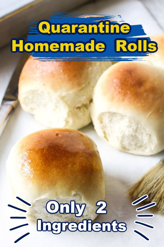 2 Ingredient Dough Rolls