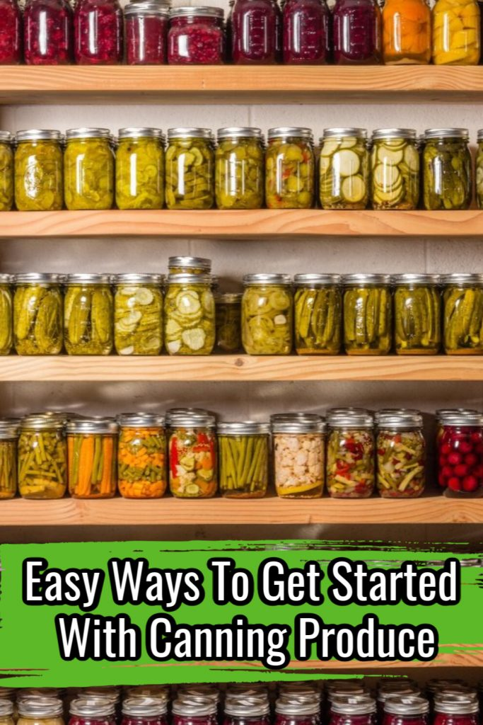Easy Ways To Get Started With Canning Produce