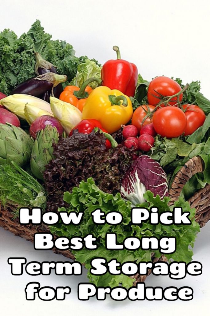 How to Pick Best Long Term Storage for Produce