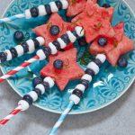 Easy Patriotic Fruit Skewers Recipe