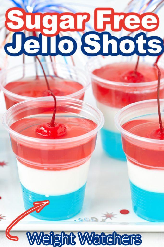sugar free jello shots