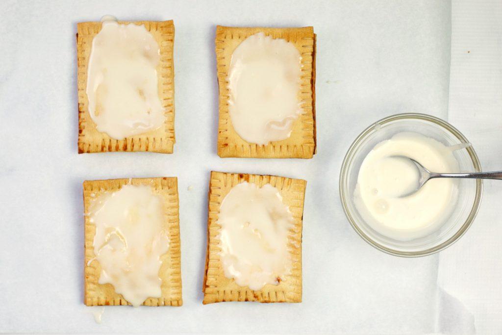 glazed pop tarts