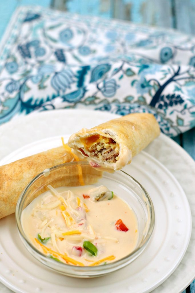 Air Fryer Breakfast Taquitos