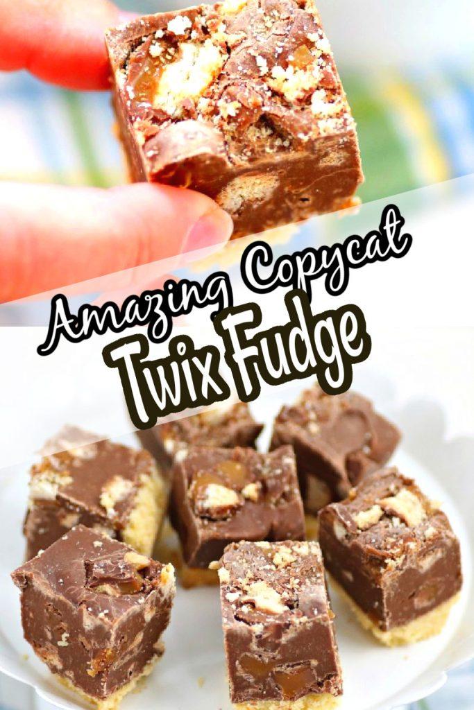 twix fudge for pinterest