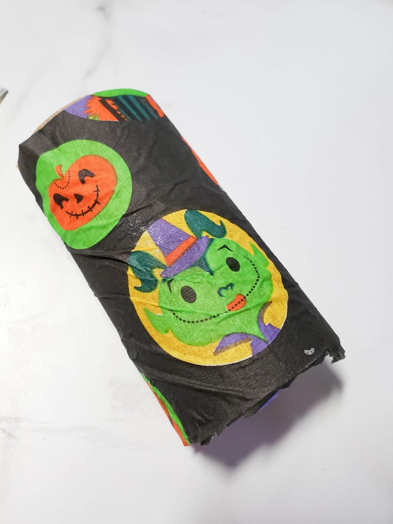 Easy DIY Treat Bag for Halloween