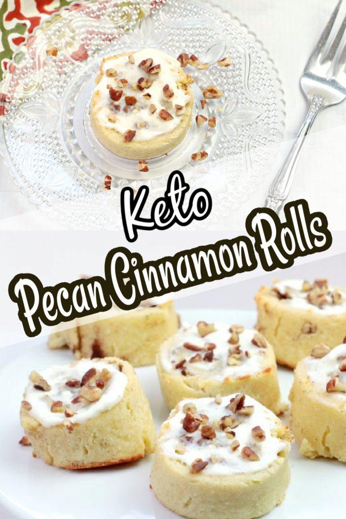 Keto Pecan Cinnamon Rolls Recipe