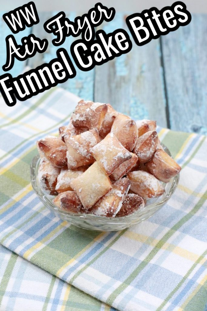 The Best WW Air Fryer Funnel Cake Bites