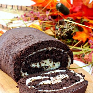 Chocolate Pumpkin Roll