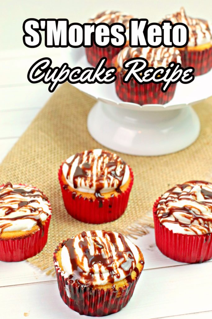 S'Mores Keto Cupcake Recipe