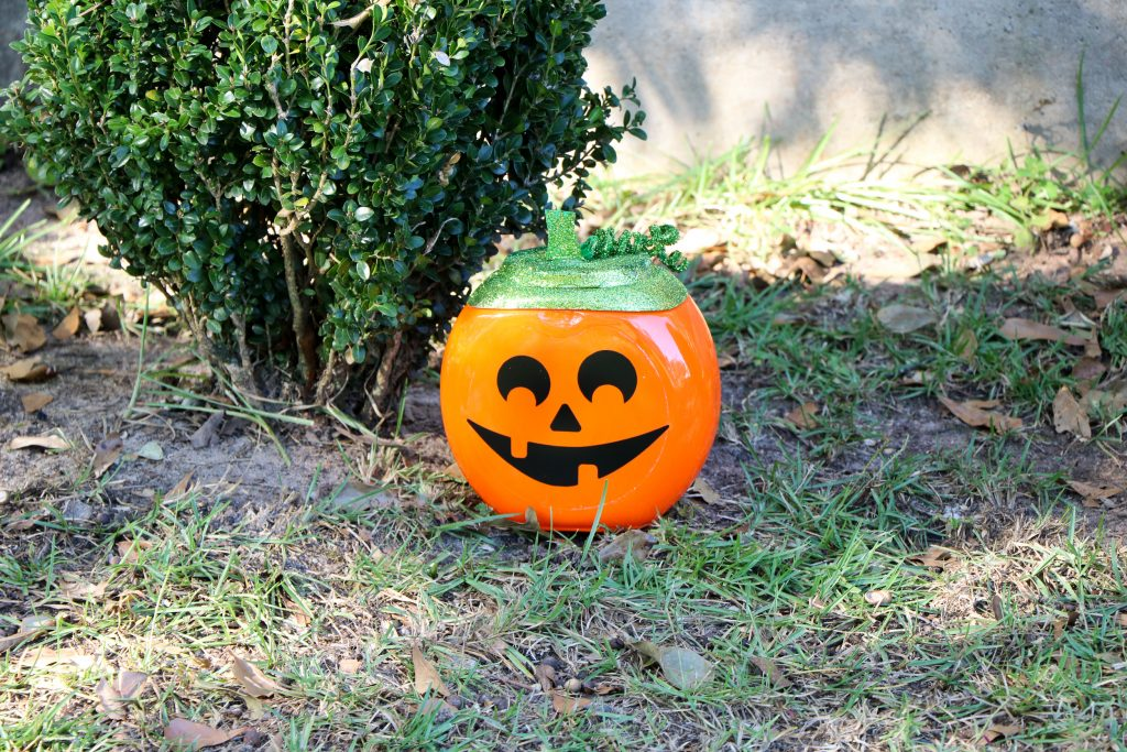 Decorative Pumpkin from Upcycled Tide Container